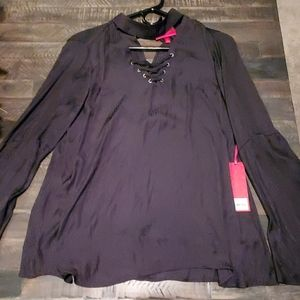 Jennifer Lopez satin style blouse